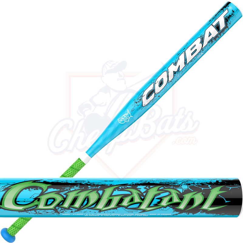 2016 Combat Combatant Slowpitch Softball Bat USSSA End ...
