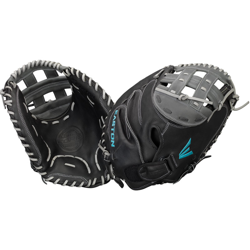 "Easton Core Pro Fastpitch Softball Catcher\'s Mitt 33"" COREFP2000BKGY"