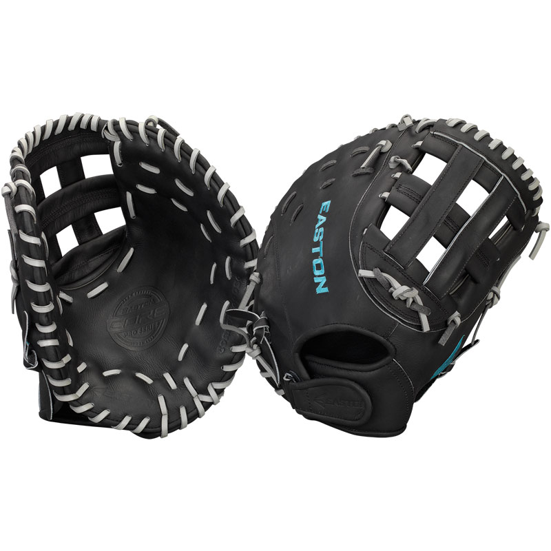 "Easton Core Pro Fastpitch Softball First Base Mitt 13"" COREFP3000BKGY"