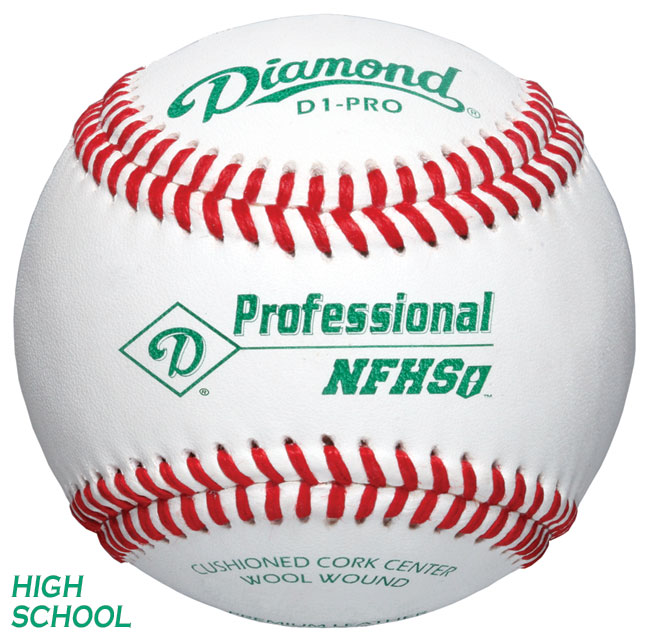 Diamond D1-PRO Professional League Baseball (1 Dozen)