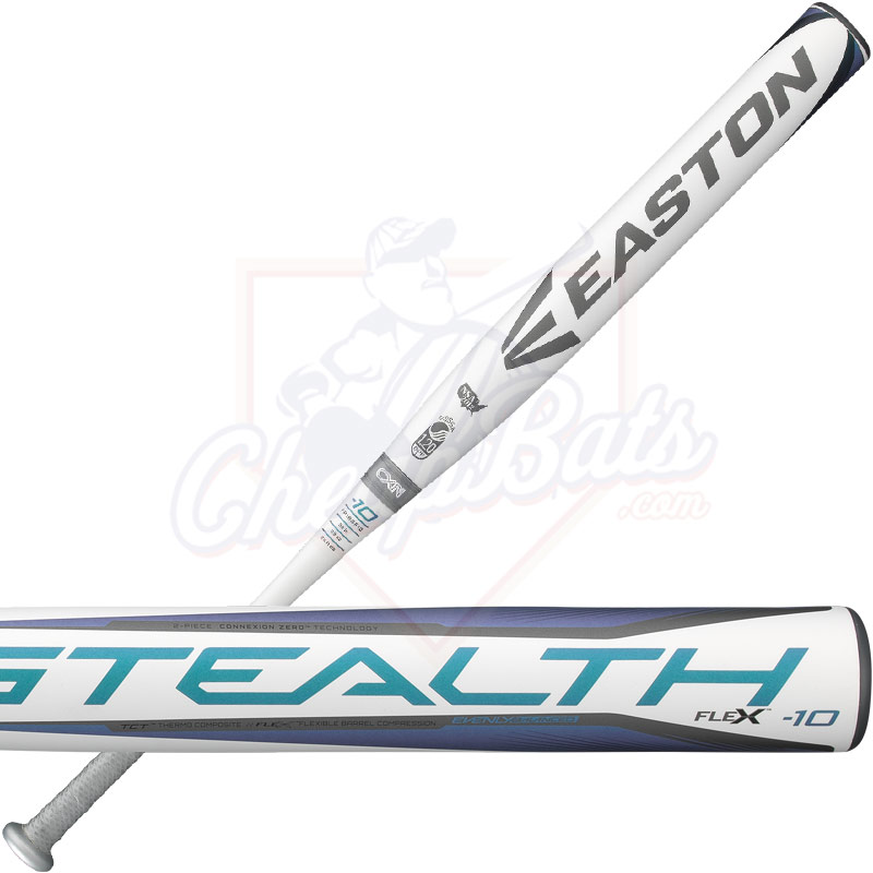 2018 Easton Stealth Flex Fastpitch Softball Bat -10oz FP18SF10