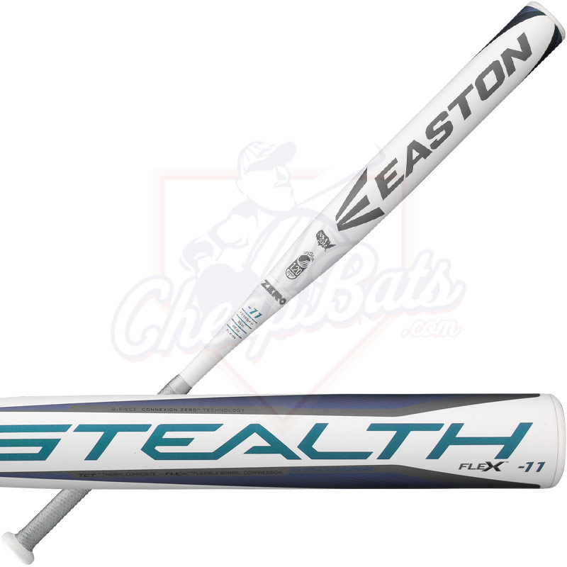 2018 Easton Stealth Flex Fastpitch Softball Bat -11oz FP18SF11