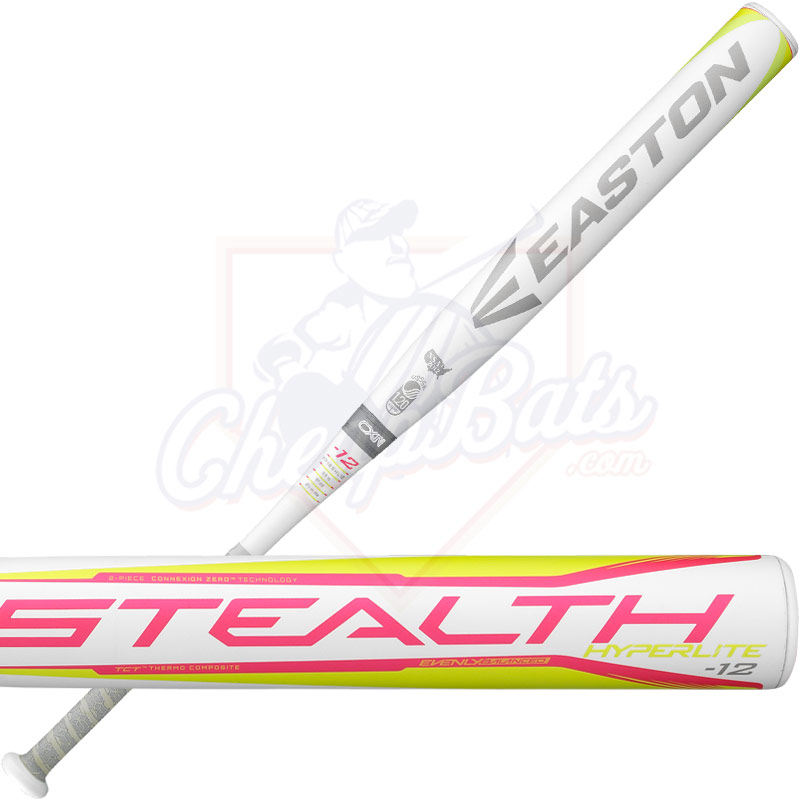 2018 Easton Stealth Hyperlite Fastpitch Softball Bat -12oz FP18SHL12
