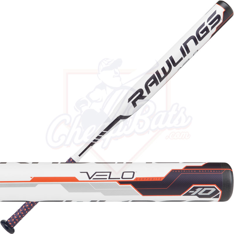 2018 Rawlings Velo Fastpitch Softball Bat -10oz FP8V10
