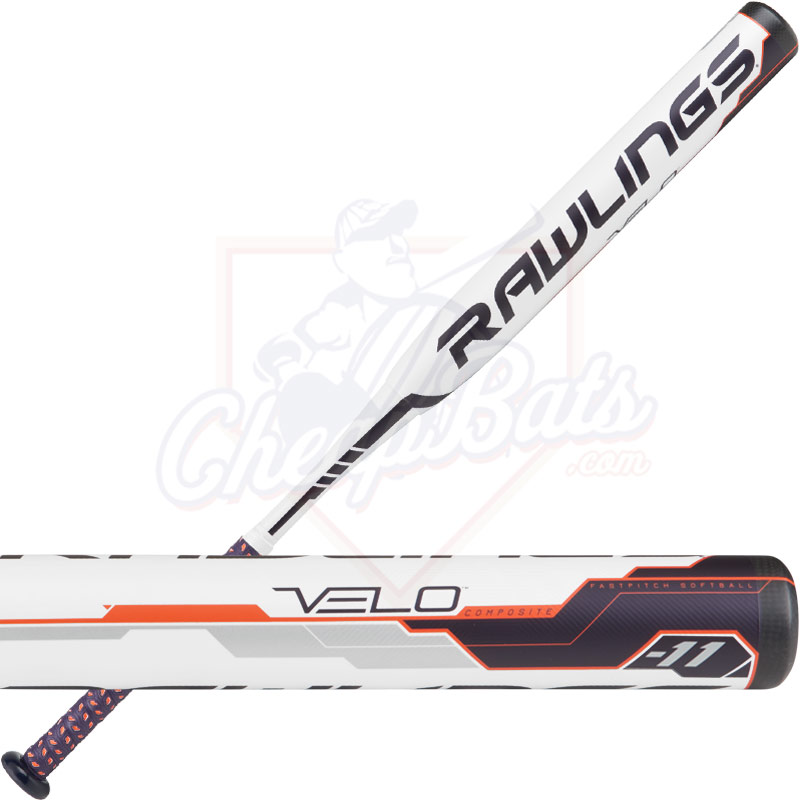 2018 Rawlings Velo Fastpitch Softball Bat -11oz FP8V11