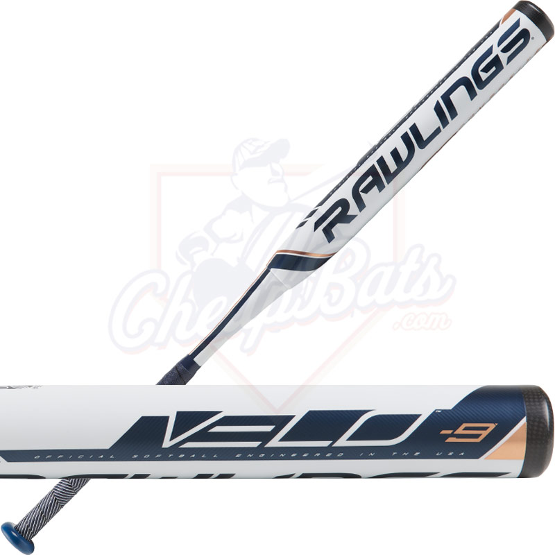 2019 Rawlings Velo Fastpitch Softball Bat -9oz FP9V9