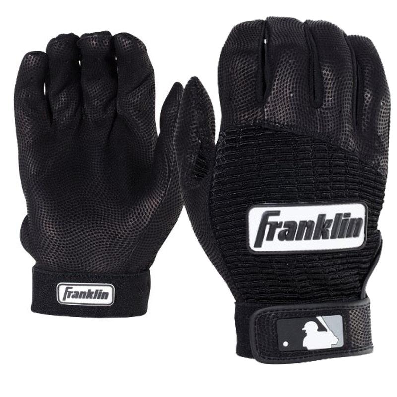 2018 Miken Pro Black Batting Gloves MBGL18-BLK