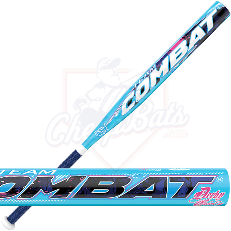 2016 Combat Derby Girls Slowpitch Softball Bat USSSA End ...