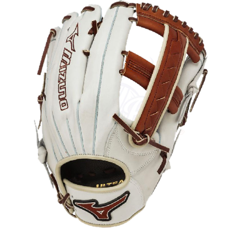 "Mizuno MVP Prime SE Slowpitch Softball Glove 12.5"" Silver/Brown GMVP1250PSES3"
