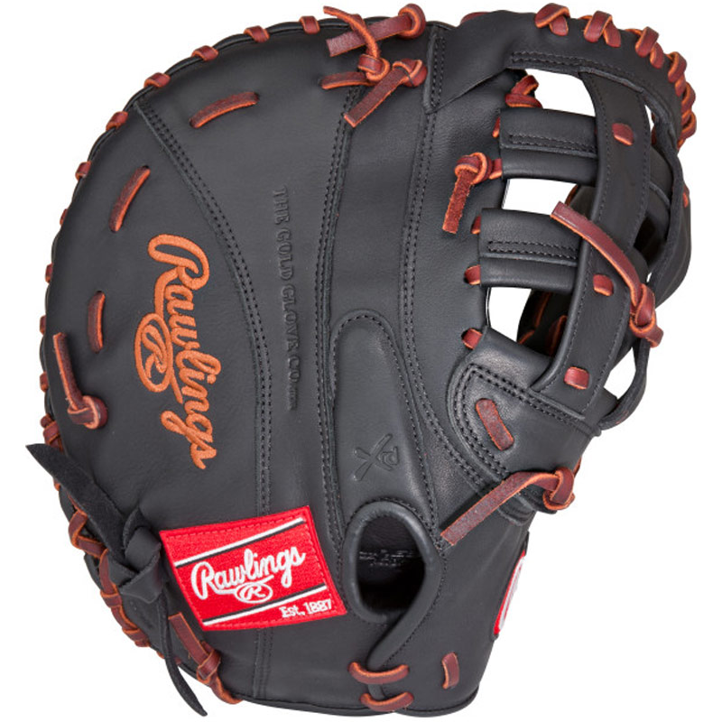 "Rawlings Gamer Fastpitch Softball First Base Mitt 12.5"" GSBFBM"