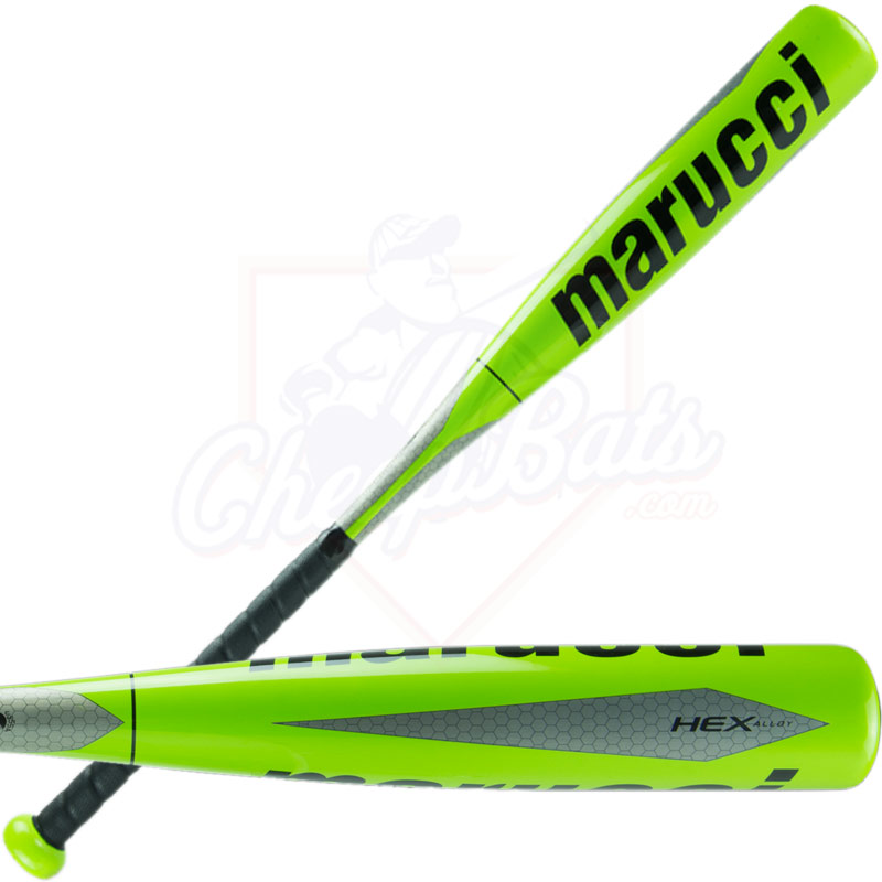 "2016 Marucci HEX ALLOY Youth Big Barrel Baseball Bat 2 3/4"" -9oz MSBAHAX9"