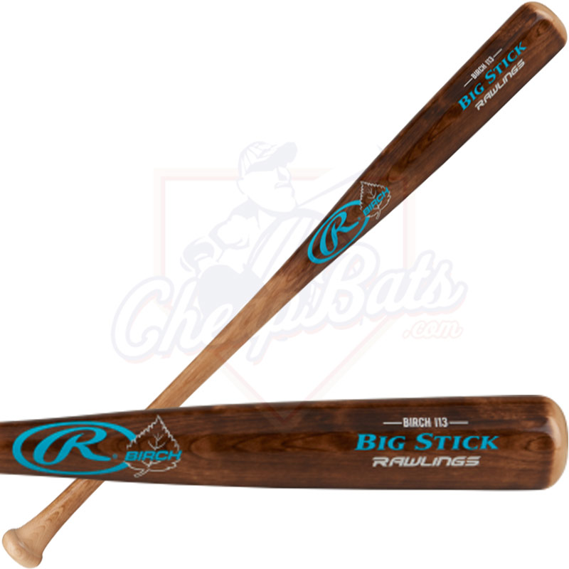 Rawlings Big Stick I13 Birch Wood Baseball Bat I13BIR