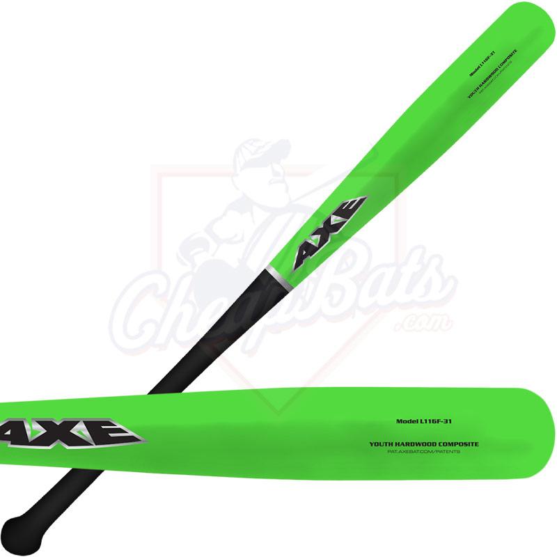 Axe Hardwood Maple Composite Youth Wood Baseball Bat -5oz L116F