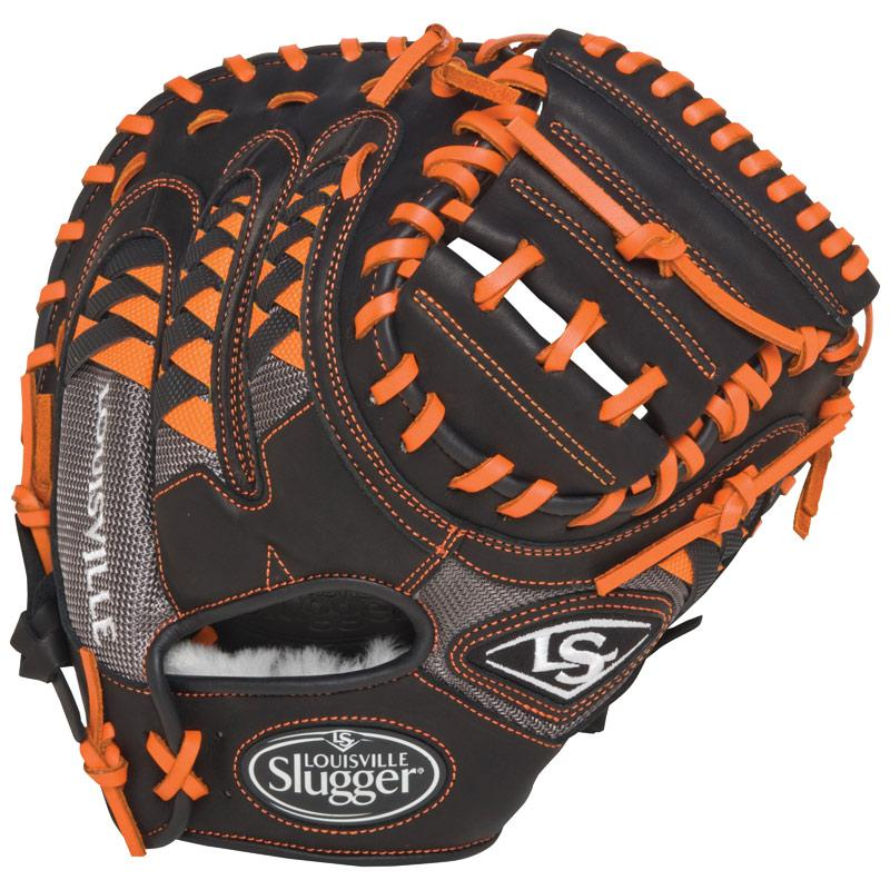 "Louisville Slugger HD9 Catchers Mitt 33.5"" Orange FGHDOR5-CTM1"