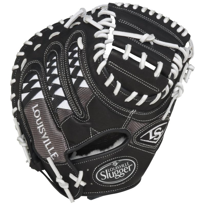 "Louisville Slugger HD9 Catchers Mitt 33.5"" White FGHDWT5-CTM1"