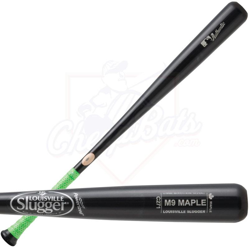 Louisville Slugger M9 Maple C271 Wood Baseball Bat WBM9271-BKL