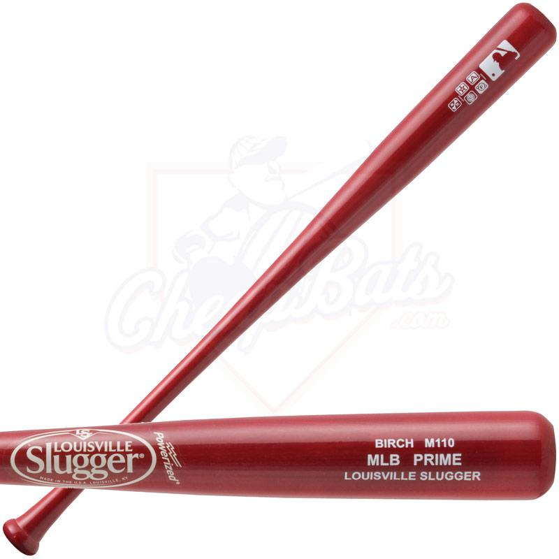 Louisville Slugger MLB Prime Birch M110 Wood Baseball Bat WBVB110-WE