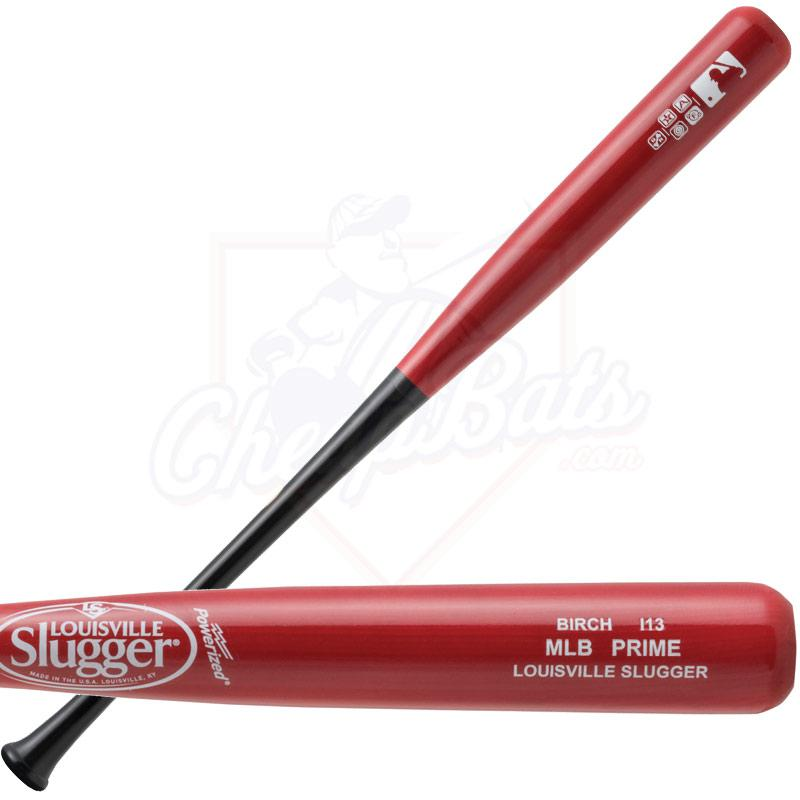 Louisville Slugger MLB Prime Birch I13 Wood Baseball Bat WBVBI13-EB
