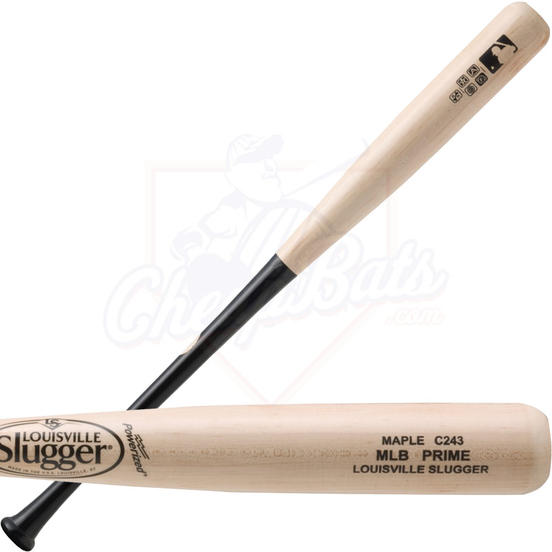 Louisville Slugger MLB Prime Maple C243 Wood Baseball Bat WBVM243-NB