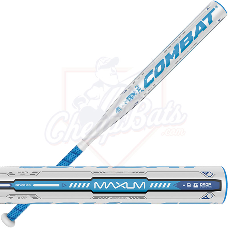2016 Combat Maxum One Piece Multi Wall Fastpitch Softball Bat 9oz Maxfp109