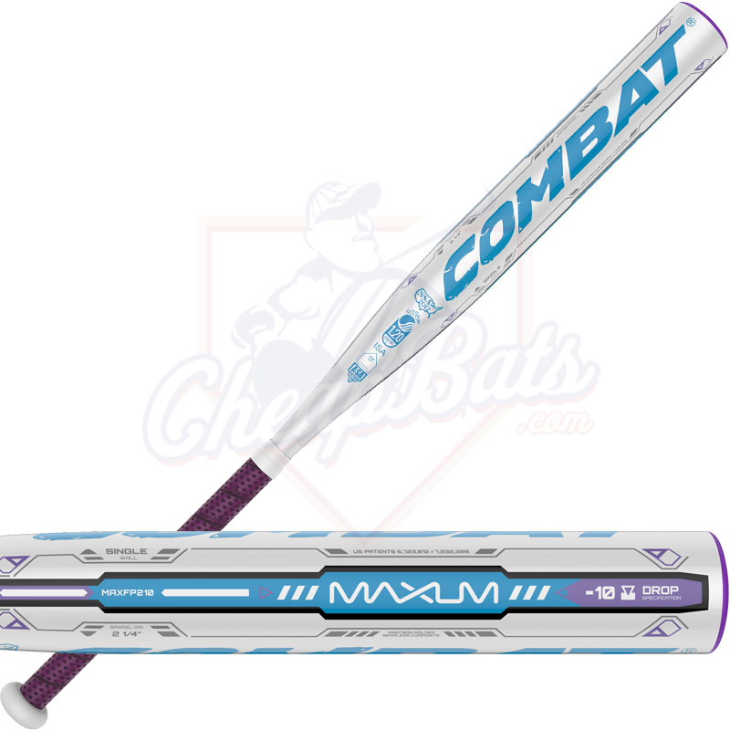 2016 Combat Maxum One-Piece Single-Wall Fastpitch Softball Bat -10oz MAXFP210