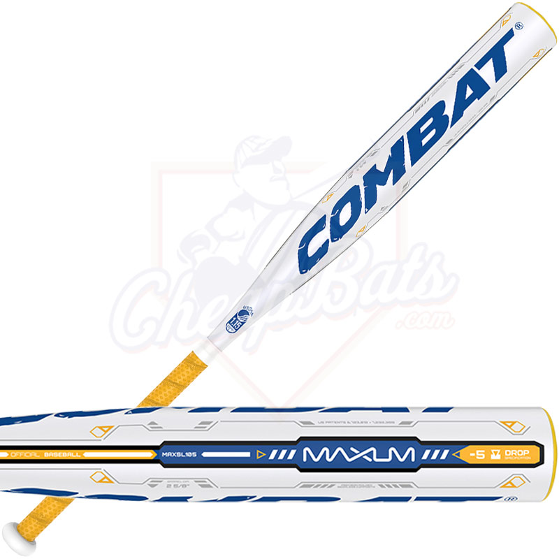 2016 Combat MAXUM Youth Big Barrel Baseball Bat -5oz MAXSL105