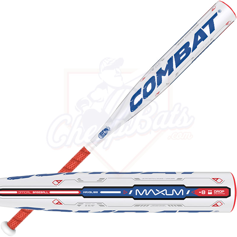 2016 Combat MAXUM Youth Big Barrel Baseball Bat -8oz MAXSL108