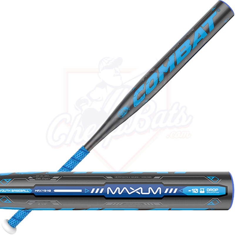 2016 Combat MAXUM Youth Baseball Bat -10oz MAXYB110