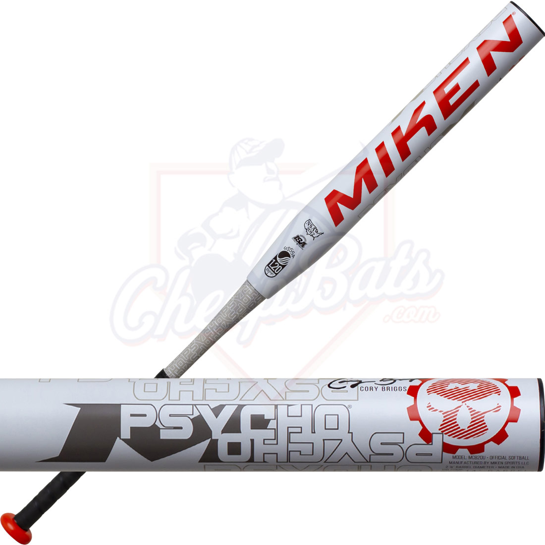 2020 Miken Psycho Slowpitch Softball Bat Maxload USSSA MCB20U