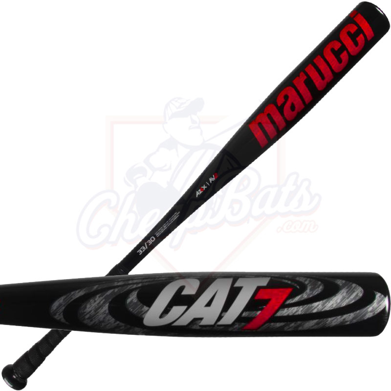 Marucci Cat 7 Black BBCOR Baseball Bat -3oz MCBC7CB