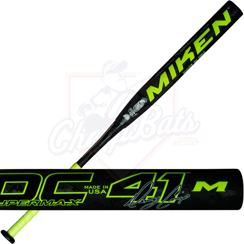 2017 Miken Denny Crine DC41 Slowpitch Softball Bat Supermax USSSA MDC41U