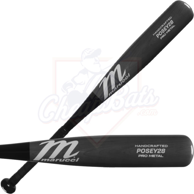Marucci Posey 28 Pro Metal Junior Big Barrel USSSA Baseball Bat -10oz MJBBP28S