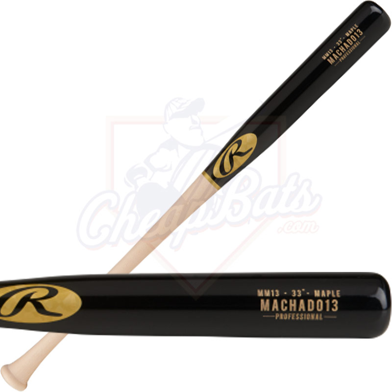 Rawlings Manny Machado Pro Label Maple Wood Baseball Bat MM13PL