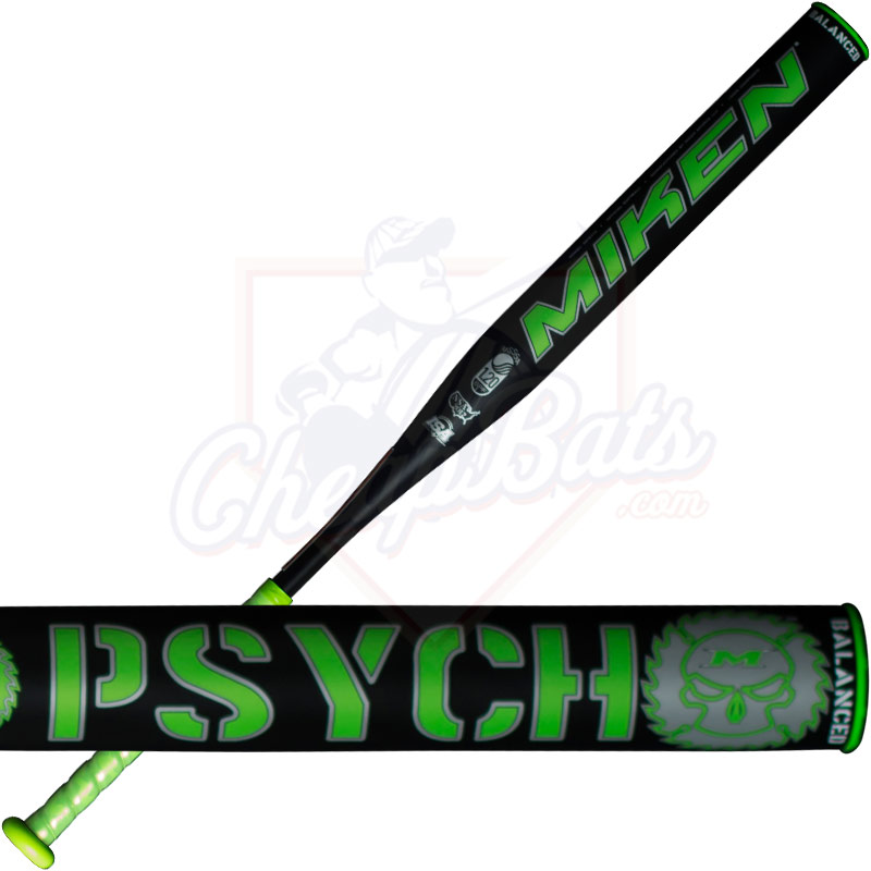 2017 Miken Psycho Slowpitch Softball Bat Balanced USSSA MPSY1U