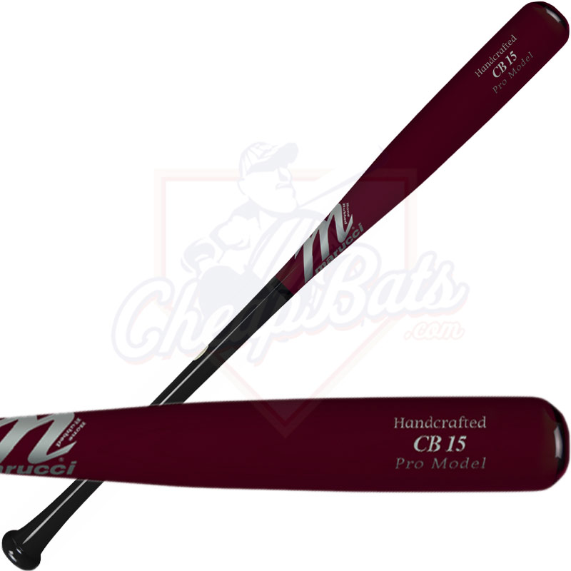 Marucci Carlos Beltran Pro Model Maple Wood Baseball Bat MVEICB15-BK/CH