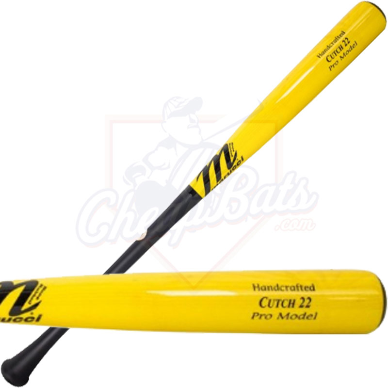 Marucci Andrew McCutchen Pro Model Maple Wood Baseball Bat MVEICUTCH22-MBK/Y