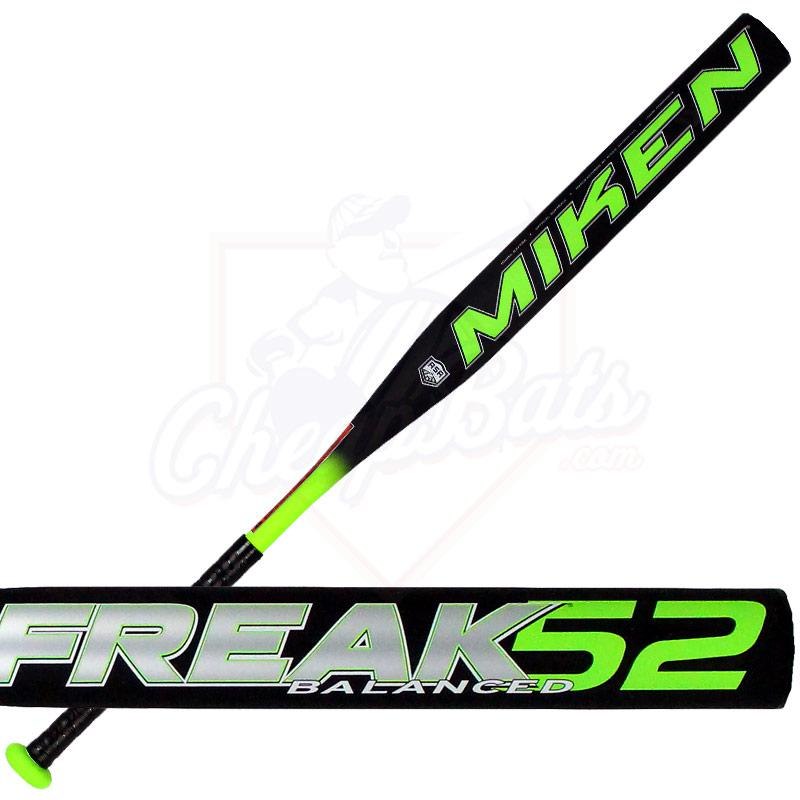 2015 Miken FREAK 52 Slowpitch Softball Bat Balanced ASA 52FKBA