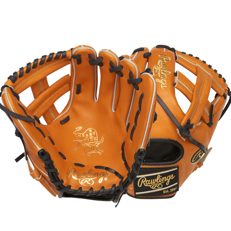 "Rawlings Heart of the Hide Color Sync Series Baseball Glove 11.5"" PRO204-20T"