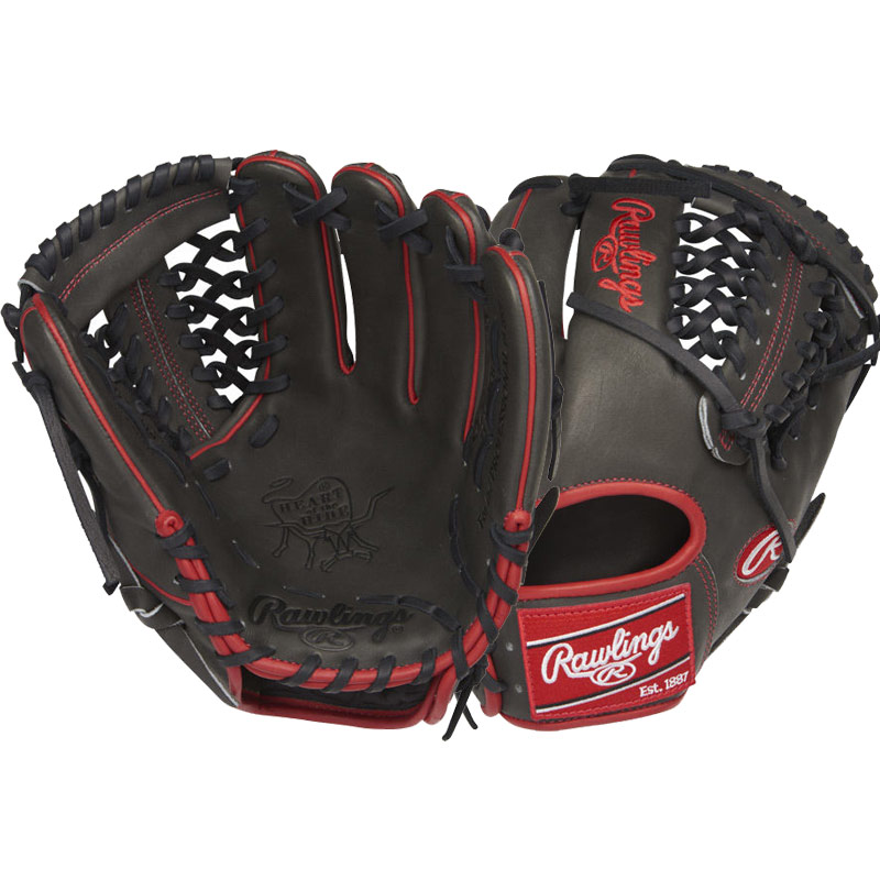 "Rawlings Heart of the Hide Baseball Glove 11.5"" PRO204-4DSS"