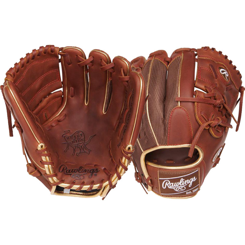 "Rawlings Heart of the Hide Color Sync Series Baseball Glove 11.75"" PRO205-9TIM"