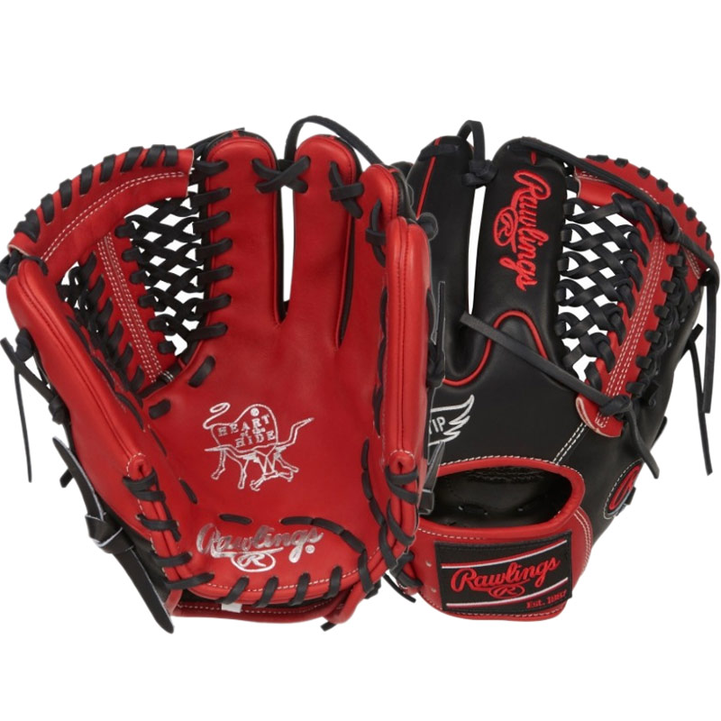"Rawlings Heart of the Hide Baseball Glove 11.75"" PRO205W-4SBS"