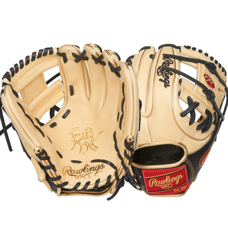 "Rawlings Heart of the Hide Color Sync Series Baseball Glove 11.5"" PRO234-2CBG"