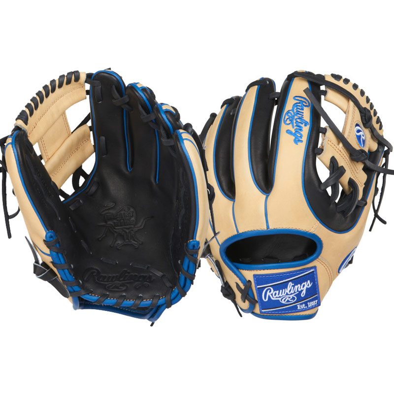 "Rawlings Heart of the Hide Limited Edition Colorsync Baseball Glove 11.25"" PRO312-2BCR"