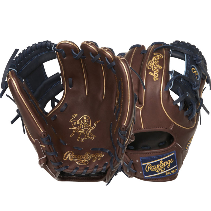"Rawlings Heart of the Hide Color Sync Series Baseball Glove 11.5"" PRO314-2CHN"