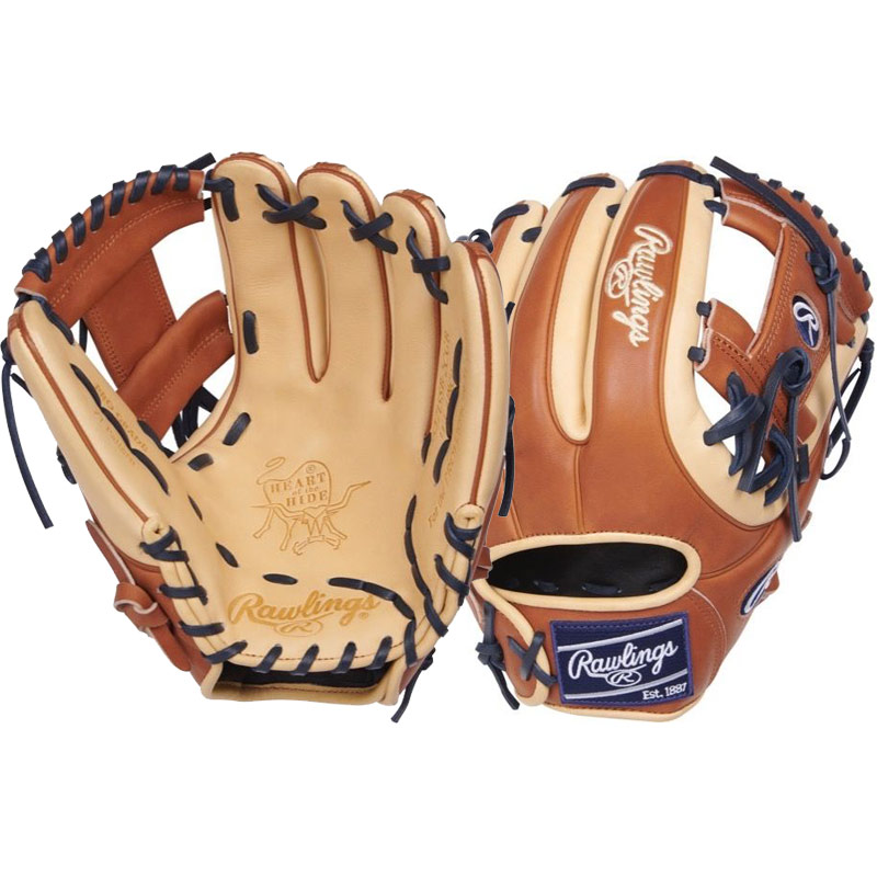 "Rawlings Heart of the Hide Fastpitch Softball Glove 11.75"" PRO715SB-2CGB"