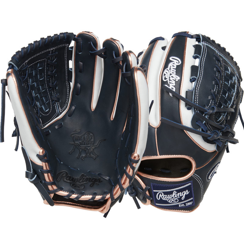 "Rawlings Heart of the Hide Fastpitch Softball Glove 12"" PRO716SB-18NW"