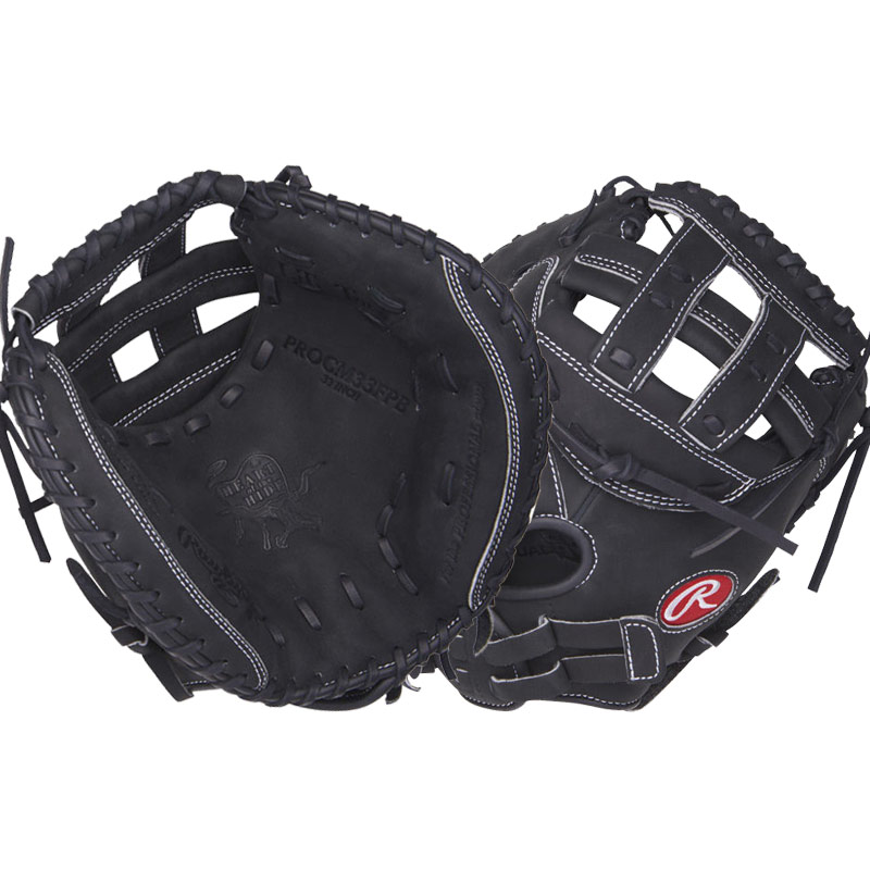 "Rawlings Heart of the Hide Fastpitch Softball Catcher\'s Mitt 33"" PROCM33FPB"