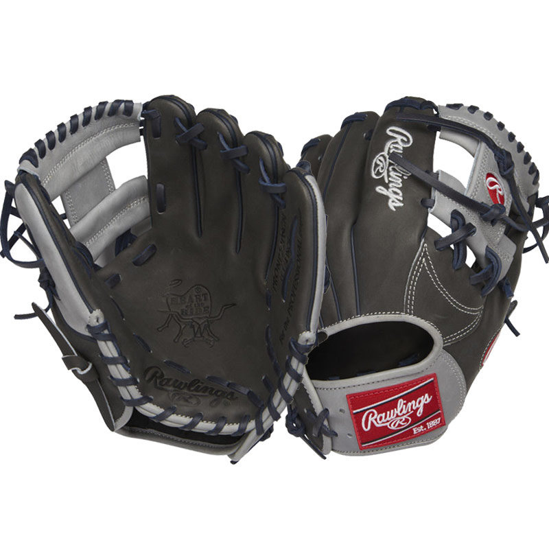 "Rawlings Heart of the Hide Baseball Glove 11.25"" PRONP2-2DSGN"