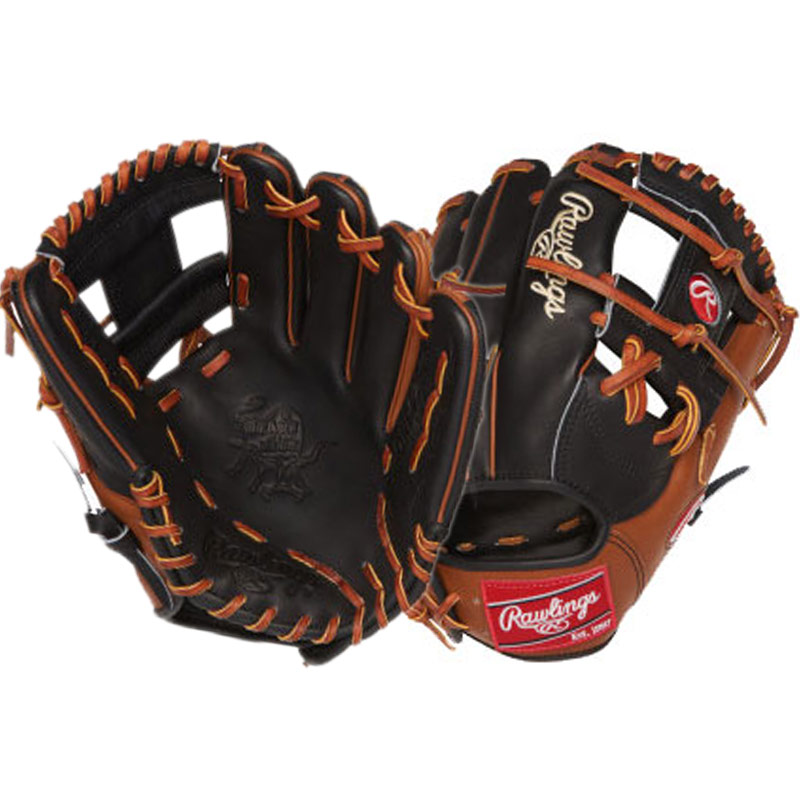 "Rawlings Heart of the Hide Baseball Glove 11.5"" PRONP4-2BGB"