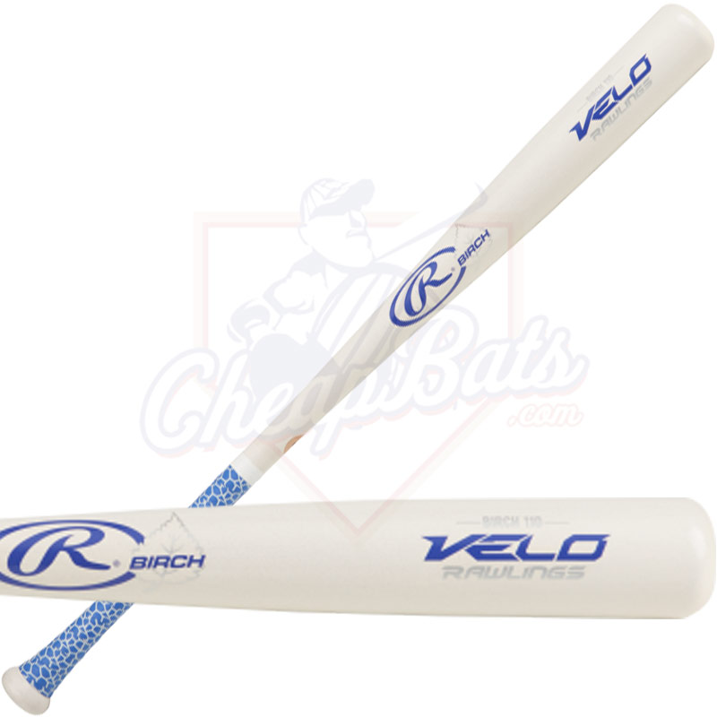 CLOSEOUT Rawlings Velo 110 Birch Wood Baseball Bat R110BV